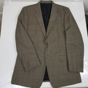 Jos A. Bank Houndstooth Blazer Jacket Sport Coat